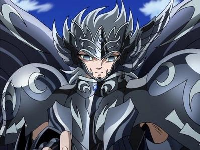 """Thanatos from""""Saint Seiya""""."""