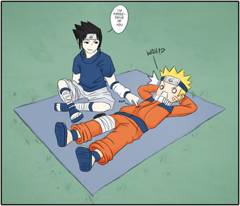 i say the best Yaoi ships is Naurto x Sasuke