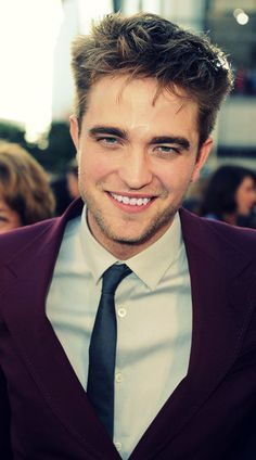 Robert giving me his picture perfect smile<3