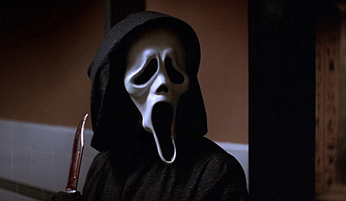 Scream, I amor scary movies.