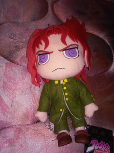 I went to Comic Con and got a lot of stuff there. My favorito! thing is probably this Kakyoin plush. >u<