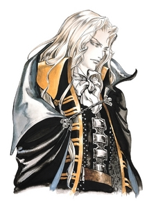 """I wouldn't say that I have a crush on him but I think that Alucard from""""Castlevania: Symphony of the Night""""is really attractive."""