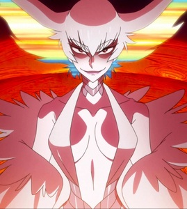 Ragyo Kiryuin. I don't hate her but it's not that I particularly like her that much either. She made a great Villain in my opinion. Ruthless, Cruel, Sadistic and definitely not the best kind of Mother but also Prideful with an indomitable will. I believe she is pretty well-written !!!!