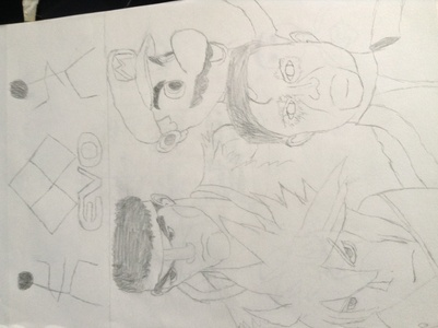 Here's one of my drawings (it's horrible).