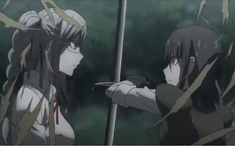 Peko Pekoyama vs Mukuro Ikusaba purely because I had always wanted to see what would happen if they got in a fight.