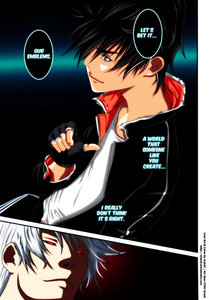 My favorit protagonist is Ikki and my favorit antagonist is Sora. Both are from Air Gear. Ikki battle Sora at the end of the komik jepang but i haven't gotten their, however I think Ikki would win, cause of his unique regalia.