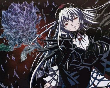 I´m really surprised none diposting Suigintou fro Rozen maiden yet, so here she is! .)