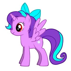 Name: Starlight Spark Twinkle pony Type: Alicorn Cutie Mark: star, sterne