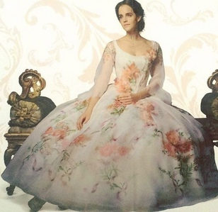 It's gorgeous, but Belle's celebration dress is my favorite, for sure.