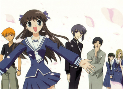 Fruits Basket, I watched it last año around April-May