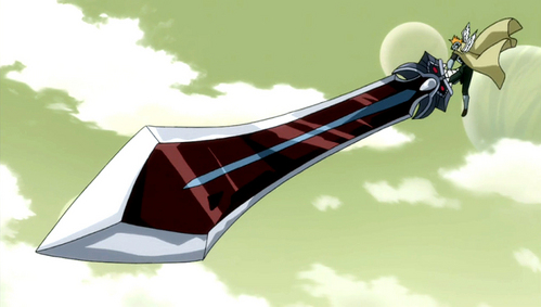 Bustermarm Sword - Fairy Tail