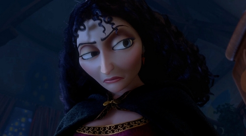 Mother Gothel I Liebe her character and her VA did an incredible job at bringing her to life. She was a cool villain, imho.
