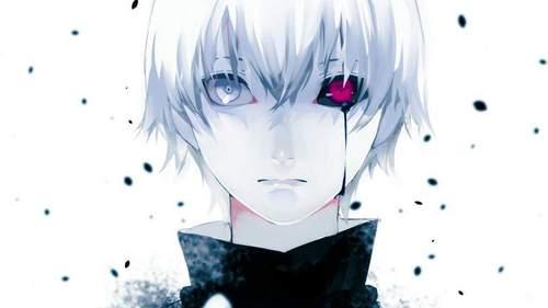 ya'll forgot about Kaneki's eyes. He has one ghoul eye and one human eye