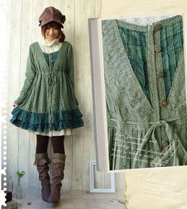 TFW THERE IS NO HIPSTER/BOHO LOLITA SO Du CANT POST BURANDO. I like the way this looks well enough. Plus it's green. Green is my favourite colour believe it oder not. I know my entire life is rosa but my actual favourite colour is green. Is this boho-y enough...?
