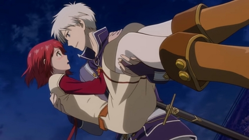 this! its a screenshot i took when i was watching thzt episode anime: snow white with the red hair