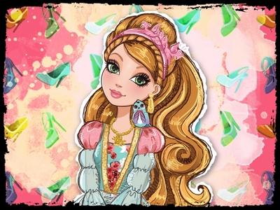 Ashlynn Ella is the most beautiful female character in my opinion.