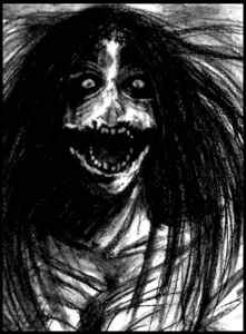 The Kuchisake Onna That's one hardcore creepy legend