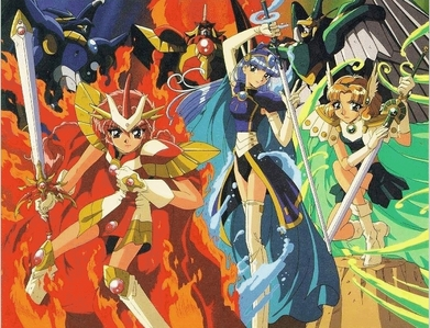 Magic Knight Rayearth.