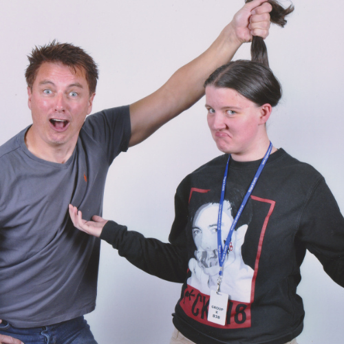 John Barrowman..I really couldnt care what he looks like anymore. He could wear a bin bag but ill always support this man because hes the best with his ファン and loves us so much <3