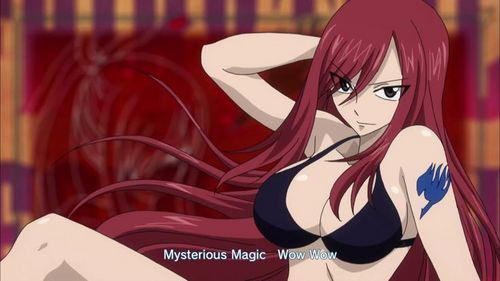 tbh nothing...xP like them because of the way they r! :) btw its zero kiryuu( vampire knight) and erza scarlet( fairy tail) maybe for erza, the fanservice part of her can be made less like for example i dont want her to be shown like this