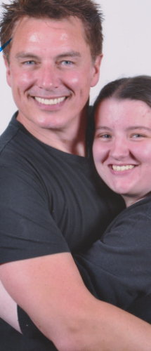 John Barrowman..I know from meeting him lots he isnt fake!