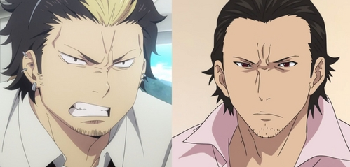 Well I'm not one to say they're exactly identical, but Suguro and Daikoku definitely have their similarities. They'd honestly probably look almost the exact same if they were both drawn in the same style, though. And it also helps that their personalities are similar as well.