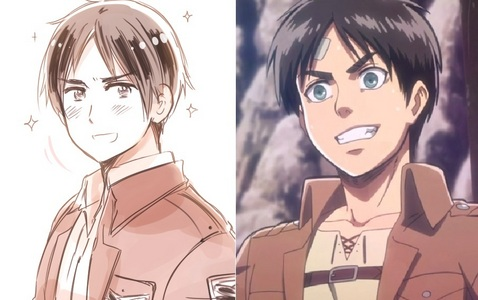Bulgaria from हेतालिया and Eren from AOT Bulgaria actually dressed up like Eren for the हैलोवीन comic in 2013