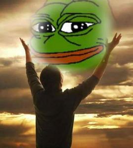 PRAISE KEK AND THE TRUE LIGHT OF THE MEME SHALL BE BESTOWED UPON آپ !!!!