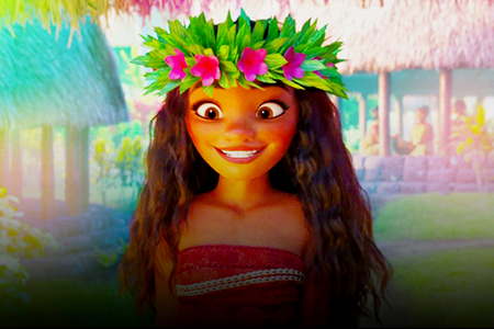 A Moana picture.
