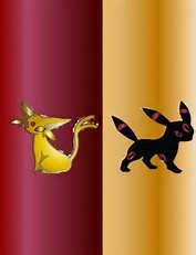 I typed 'The Garnet Umbreon' and this is what I saw as the first image:
