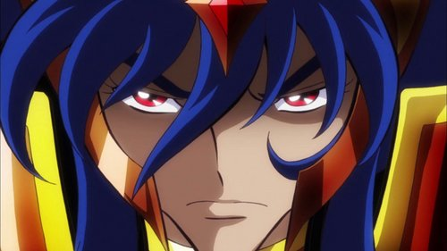 """Well its this pic of Saturn from""""Saint Seiya Omega"""":"""