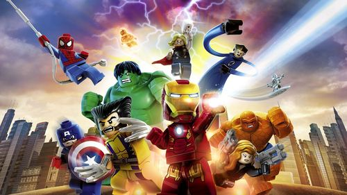 The Lego Marvel Super heroes Club.