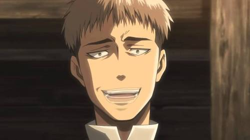 The Jean Kirschtein (Attack on Titan) club. Because Jean is awesome and deserves love.
