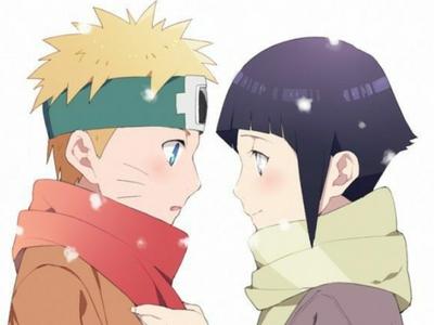 Naruto and Hinata!😍