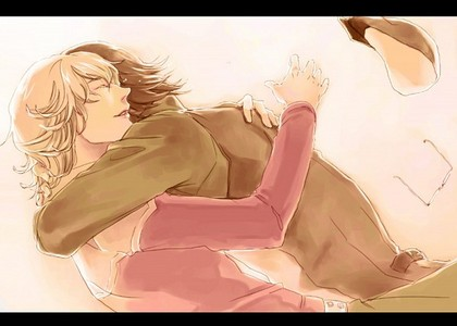 Kotetsu x Barnaby (Tiger & Bunny) I adore these two so much. They're perfect. <333