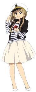 Sadly noone because no アニメ characters I know have really extremely bad acne that caused their skin to be infected 😩 The closest I can get is Tsumugi Kotobuki from K-On and that's only because we both have long blonde hair, blue eyes and I dress in outfits like this a lot