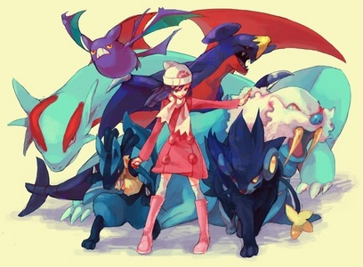 Pokemon Dream Team: Venusaur, Dragonite, Arcanine, Salamence, Lapras, and Seaking