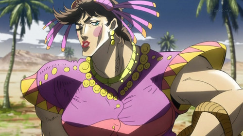 ***EDIT editar I NEED TO FUCKING CHANGE MY ANSWER FROM THE BLUE EXORCIST ONE I HAD- Joseph Joestar is the best and sexiest crossdresser ever in anime-