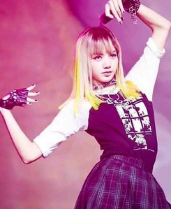 Black Pink's Lisa *sighs* She's my dream and future wife. So beautiful,energetic,talented and so many things ❤️❤️
