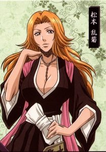 There's a couple but, I am like... 2000% attracted to Rangiku Matsumoto from Bleach. I just can't. <333333 My heteroness flies out the damned window whenever I see her.