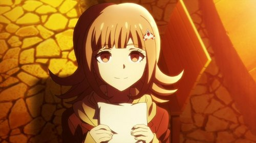 Chiaki Nanami in Danganronpa 3: Despair arc (SPOILERS) She is a gamer girl who somehow manages to pretty much single-handedly make everyone get along. Everyone says she should be class rep without even considering anyone else. When she dies, the entire rest of her class turn to despair and DESTROY THE WORLD because they miss her অথবা some other bull. She is shown as flawless, beautiful and perfect, and I hate every pretty little inch of her.