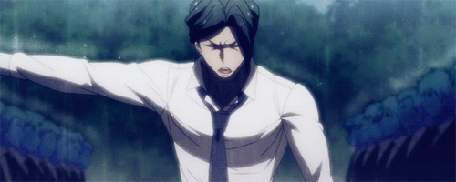 Juzo Sakakura, not the nicest guy in the world there's something so compelling about him.