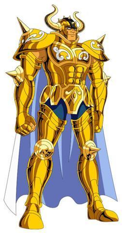 Taurus Aldebaran from Saint Seiya.He's 210cm tall.