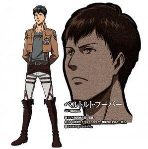 Bertolt from shingeki no kyojin! he is 192 cm