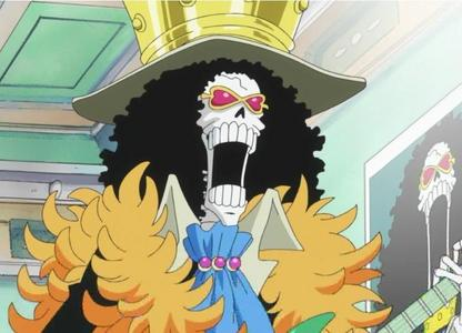 Brook from One Piece! I believe he's about.. 277cm o so.
