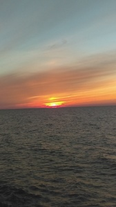 Happy Birthdayyyy. Have a picture of a sunset of Lake Erie that I took.