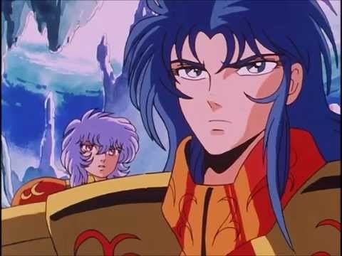 Kanon from Saint Seiya.He's not even worth talking about.