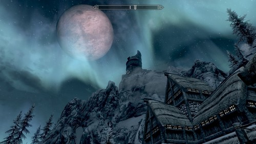 This is difficult. Stuck between these three: Unrelenting Force - I mean just yeah Aura Whisper - helps me get an idea of how many bitches need to die Clear Skies - because I hate snow in my face and also Du get scenes like the one below if Du use it at night