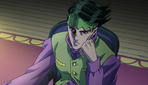 Rohan Kishibe. One of my many backup husbands. (Prays to the gods that Du don't know who he is)