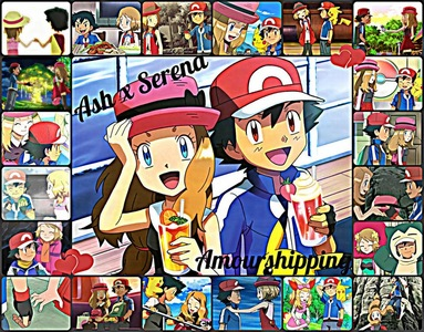 Ash X Serena-Amourshipping are my Избранное Аниме Fiction Characters they are my Избранное Аниме Fiction Couple :) im a Huge Фан of Ash X Serena-Amourshipping :)
